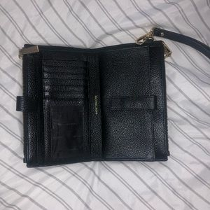Michael Kors double-zip wristlet